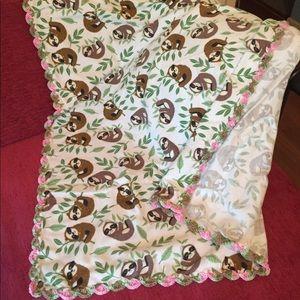 Other - Handmade Sloth Blanket
